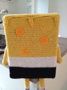 Spongebob haken achterkant