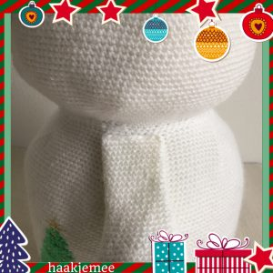 haakpatroon sneeuwpop armen