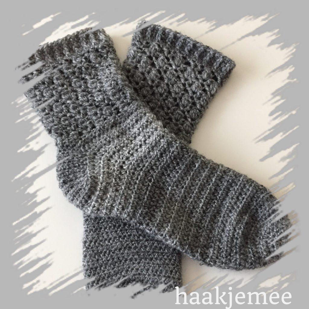 eenvoudige sokken haken