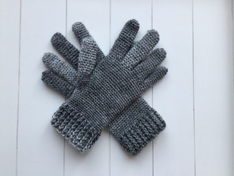 Haakpatroon handschoenen met vingers