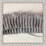 ponytail bun crochet pattern thistle stitch