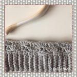 crochet bun beanie round 3