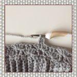 messy bun beanie crochet pattern round 4