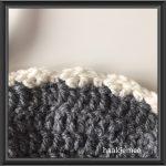 messy bun beanie crochet