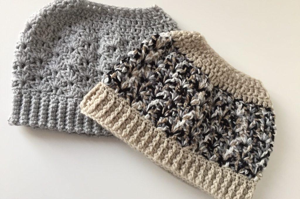 bun beanie crochet pattern