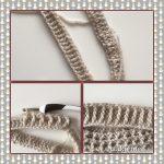 crochet beanie brim pattern