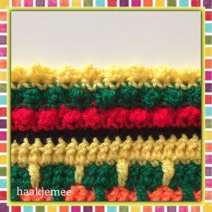 mexicaanse poncho haken toer 14