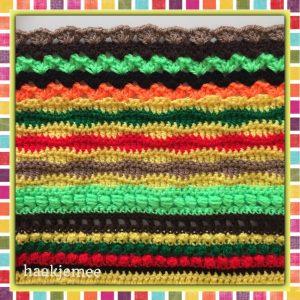 mexicaanse poncho haken toer 40