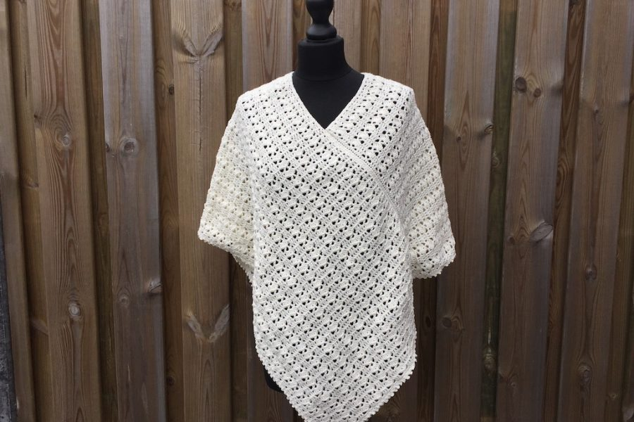 summer poncho crochet pattern