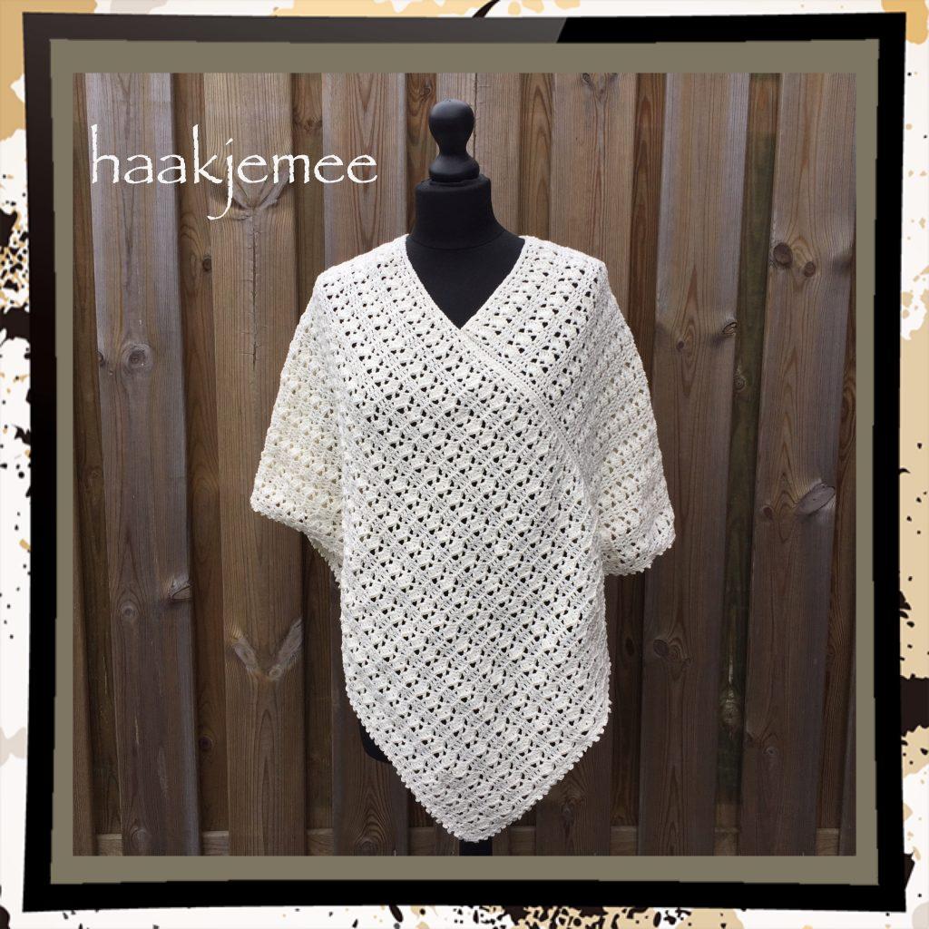 Summer Poncho Crochet Pattern Haak Je Mee